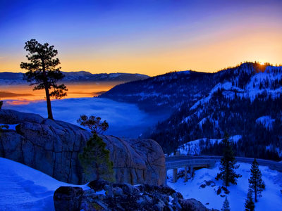 winter landscape wallpaper. asian winter landscape