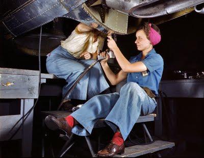 WW II women history
