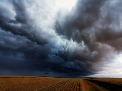 american landscapes, rural landscape, storms