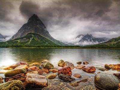 Glacier National Park,USA, Montana, landscape, conservation, nature