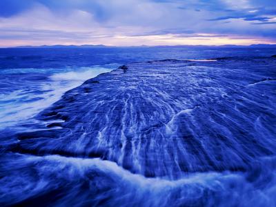 australia, ocean, sea, water, misty