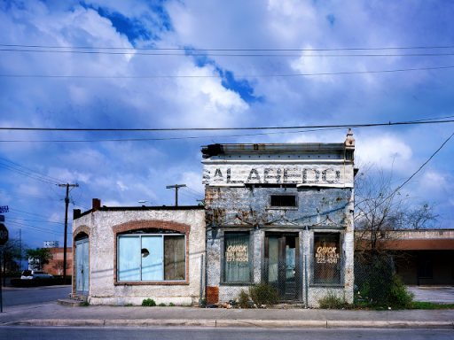 abandoned travel agency, san antonio, texas by carol highsmith