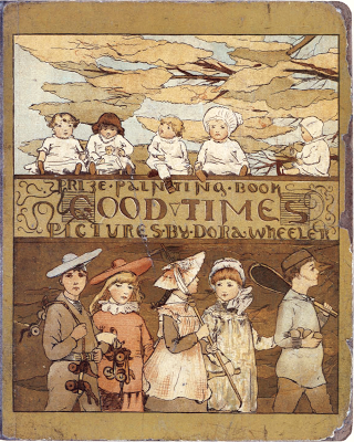 Dora Wheeler illustration for Good Times 1881