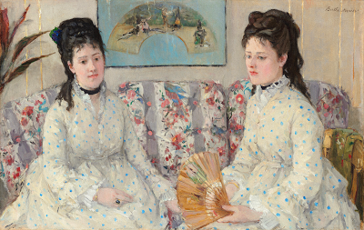 The Sisters by Berthe Morisot 1869
