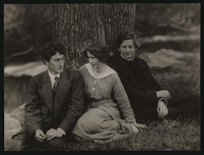 George Sterling, Edna St. Vincent Millay, and Bliss Carman. 1914