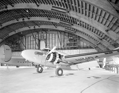 Continental Can hangar, Morristown Airport, New Jersey