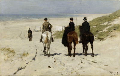 Morning Ride on the Beach
